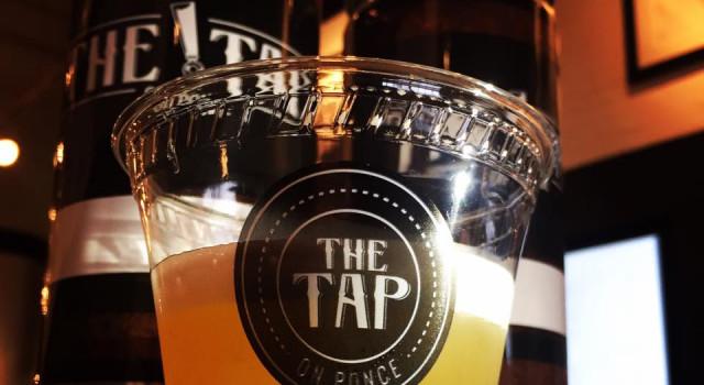 pumpkin beer at tap on ponce