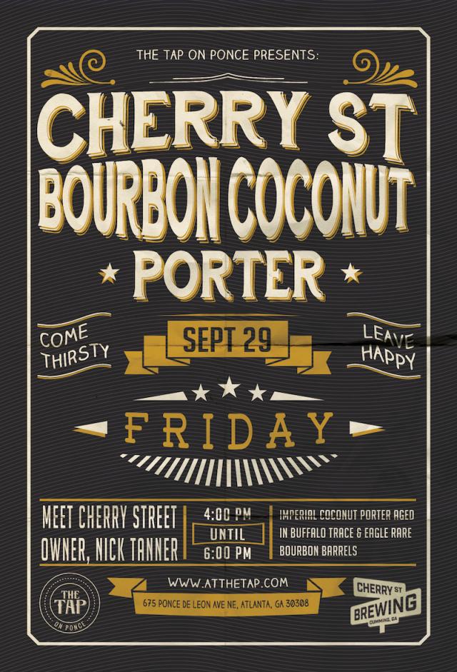 Cherry Street Bourbon Coconut Porter