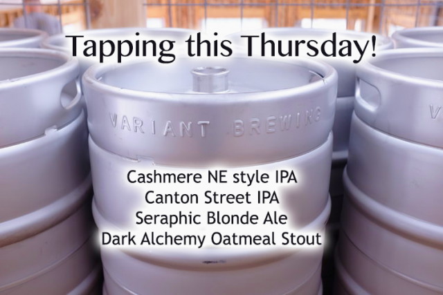 The Tap Welcomes Variant Brewing
